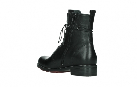 wolky mid calf boots 04438 murray cw 20000 black leather cold winter warm lining_16