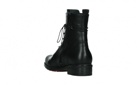 wolky mid calf boots 04438 murray cw 20000 black leather cold winter warm lining_17