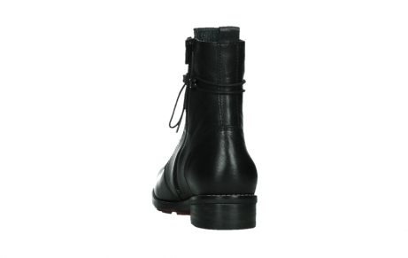wolky mid calf boots 04438 murray cw 20000 black leather cold winter warm lining_18