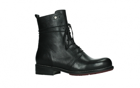 wolky mid calf boots 04438 murray cw 20000 black leather cold winter warm lining_2