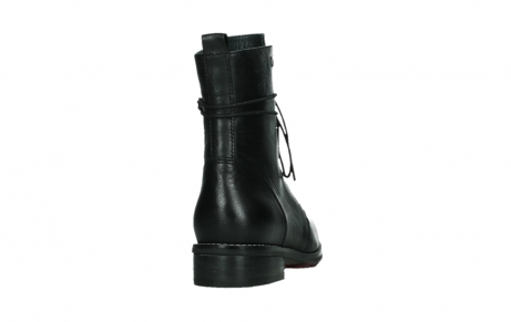wolky mid calf boots 04438 murray cw 20000 black leather cold winter warm lining_20