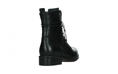 wolky mid calf boots 04438 murray cw 20000 black leather cold winter warm lining_21