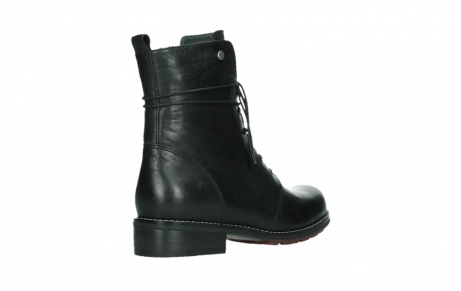 wolky mid calf boots 04438 murray cw 20000 black leather cold winter warm lining_22