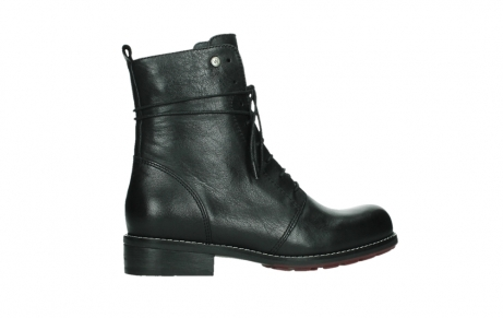 wolky mid calf boots 04438 murray cw 20000 black leather cold winter warm lining_24