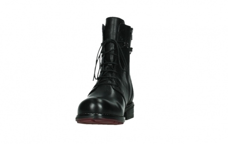wolky mid calf boots 04438 murray cw 20000 black leather cold winter warm lining_8
