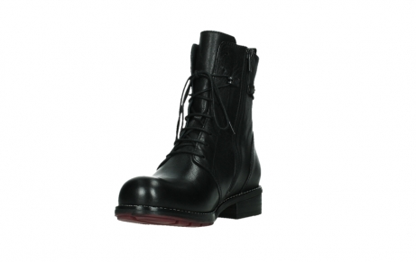 wolky mid calf boots 04438 murray cw 20000 black leather cold winter warm lining_9