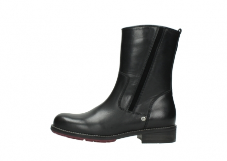 wolky mid calf boots 04442 russell cw 20000 black leather cold winter warm lining_1