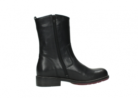 wolky mid calf boots 04442 russell cw 20000 black leather cold winter warm lining_12