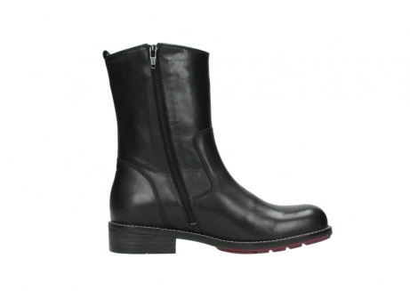 wolky mid calf boots 04442 russell cw 20000 black leather cold winter warm lining_13
