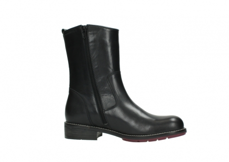 wolky mid calf boots 04442 russell cw 20000 black leather cold winter warm lining_14