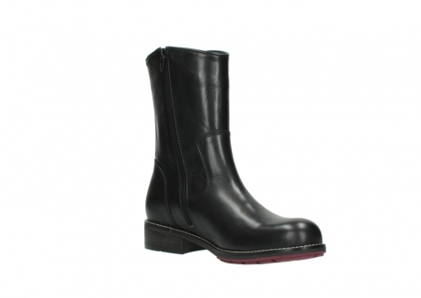 wolky mid calf boots 04442 russell cw 20000 black leather cold winter warm lining_16