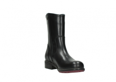 wolky mid calf boots 04442 russell cw 20000 black leather cold winter warm lining_17