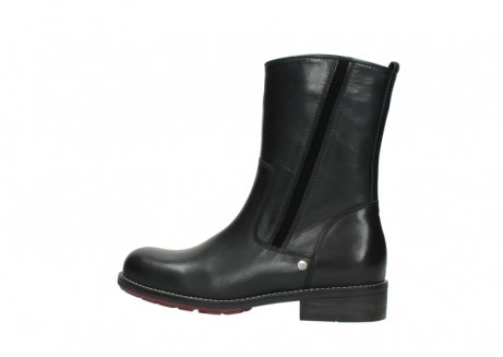 wolky mid calf boots 04442 russell cw 20000 black leather cold winter warm lining_2