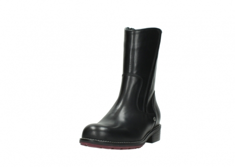 wolky mid calf boots 04442 russell cw 20000 black leather cold winter warm lining_21