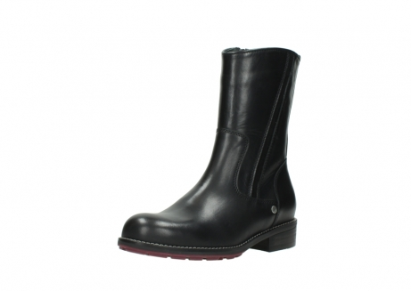wolky mid calf boots 04442 russell cw 20000 black leather cold winter warm lining_22