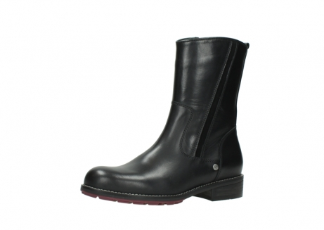 wolky mid calf boots 04442 russell cw 20000 black leather cold winter warm lining_23