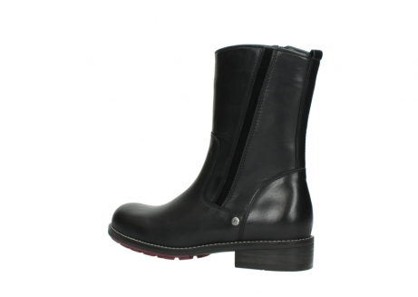 wolky mid calf boots 04442 russell cw 20000 black leather cold winter warm lining_3