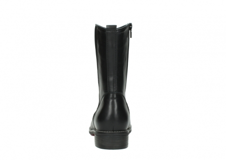wolky mid calf boots 04442 russell cw 20000 black leather cold winter warm lining_7