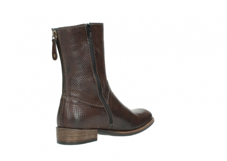 wolky halbhohe stiefel 04511 yunnan 30430 cognac snakeprint leder_10