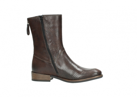 wolky halbhohe stiefel 04511 yunnan 30430 cognac snakeprint leder_14