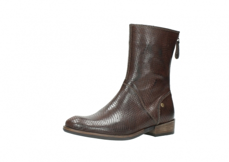wolky halbhohe stiefel 04511 yunnan 30430 cognac snakeprint leder_23