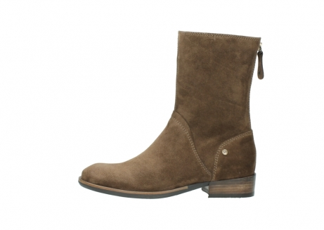 wolky mid calf boots 04511 yunnan 40310 mid brown oiled suede_1