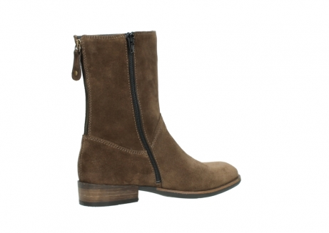 wolky mid calf boots 04511 yunnan 40310 mid brown oiled suede_11
