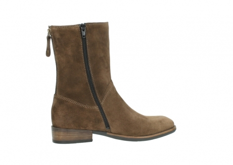 wolky mid calf boots 04511 yunnan 40310 mid brown oiled suede_12