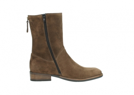wolky mid calf boots 04511 yunnan 40310 mid brown oiled suede_13