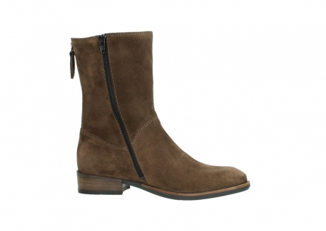 wolky mid calf boots 04511 yunnan 40310 mid brown oiled suede_14