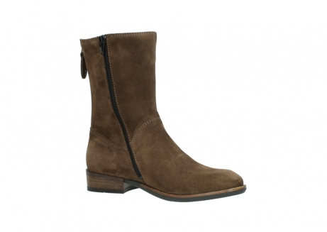 wolky mid calf boots 04511 yunnan 40310 mid brown oiled suede_15