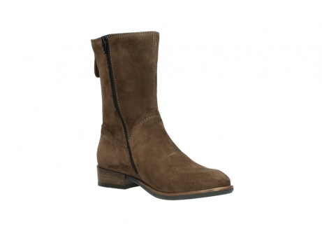 wolky mid calf boots 04511 yunnan 40310 mid brown oiled suede_16