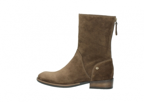wolky mid calf boots 04511 yunnan 40310 mid brown oiled suede_2