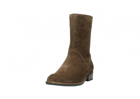 wolky mid calf boots 04511 yunnan 40310 mid brown oiled suede_21