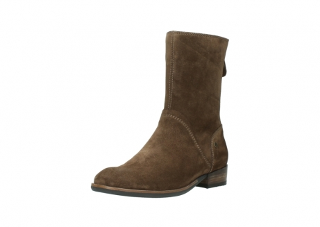 wolky mid calf boots 04511 yunnan 40310 mid brown oiled suede_22