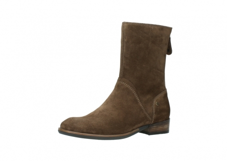 wolky mid calf boots 04511 yunnan 40310 mid brown oiled suede_23