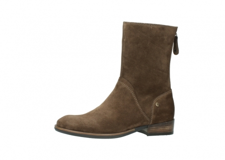 wolky mid calf boots 04511 yunnan 40310 mid brown oiled suede_24