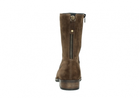wolky mid calf boots 04511 yunnan 40310 mid brown oiled suede_7