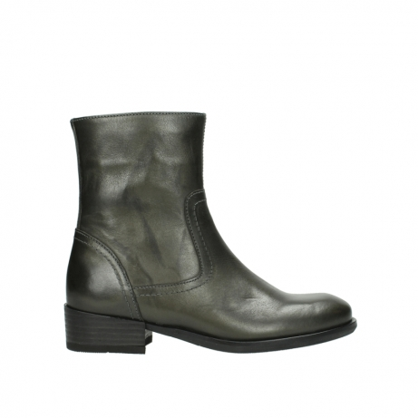 wolky mid calf boots 04514 assam 30203 lead graca leather