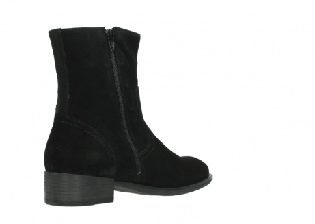 wolky mid calf boots 04514 assam 40000 black suede_10