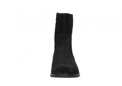 wolky mid calf boots 04514 assam 40000 black suede_19
