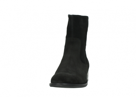 wolky mid calf boots 04514 assam 40000 black suede_20