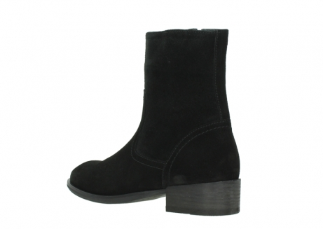 wolky mid calf boots 04514 assam 40000 black suede_4