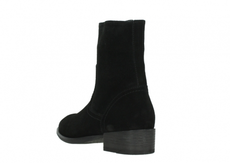 wolky mid calf boots 04514 assam 40000 black suede_5