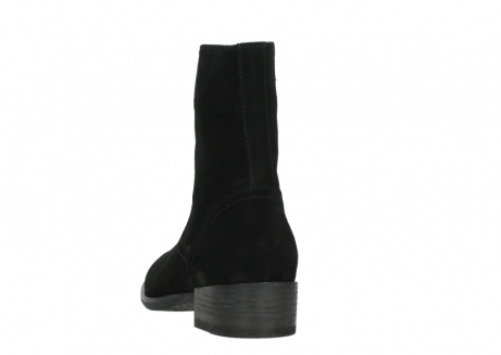 wolky mid calf boots 04514 assam 40000 black suede_6