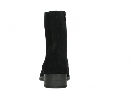 wolky mid calf boots 04514 assam 40000 black suede_7