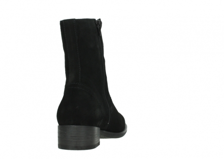 wolky mid calf boots 04514 assam 40000 black suede_8