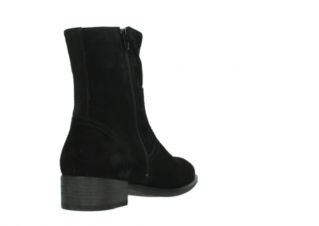 wolky mid calf boots 04514 assam 40000 black suede_9
