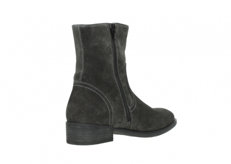 wolky mid calf boots 04514 assam 40210 anthracite oiled suede_10