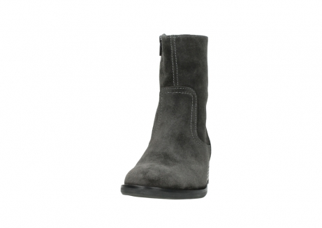 wolky mid calf boots 04514 assam 40210 anthracite oiled suede_20